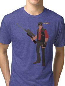 Team Fortress 2   Minimalist Sniper Tri-blend T-Shirt