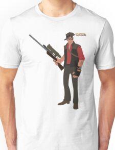 Team Fortress 2   Minimalist Sniper Unisex T-Shirt