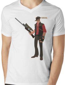 Team Fortress 2 | Minimalist Sniper Mens V-Neck T-Shirt