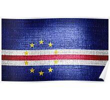 Flag of Cape Verde Poster