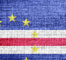 Flag of Cape Verde Sticker