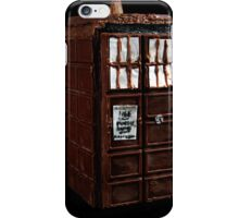 Time And Relative Dimensions In Chocolate iPhone Case/Skin