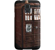Time And Relative Dimensions In Chocolate Samsung Galaxy Case/Skin