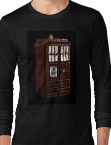 Time And Relative Dimensions In Chocolate Long Sleeve T-Shirt