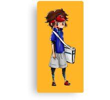 Chibi Nate (Pokemon Black 2 and White 2) Canvas Print