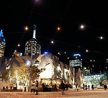 Federation Square by melbourne