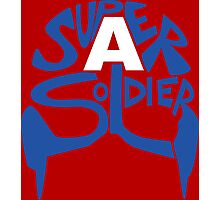 Super Soldier Photographic Print