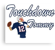 Touchdown Tommy Canvas Print