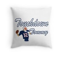 Touchdown Tommy Throw Pillow