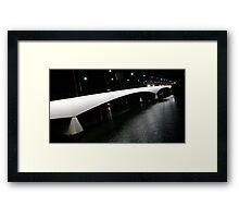 Captain Cook Bridge Framed Print