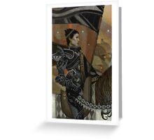 Cassandra Tarot Greeting Card