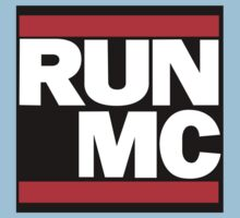 RUN MC - Alternative version for sticker. Kids Clothes