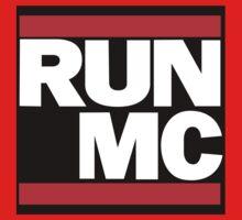 RUN MC - Alternative version for sticker. Kids Clothes