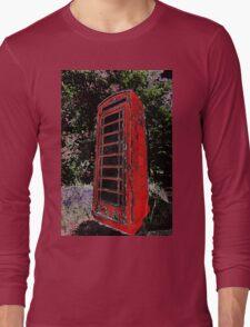 Red Phone Box Long Sleeve T-Shirt