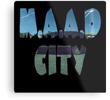 Kendrick Lamar m.A.A.d City Metal Print