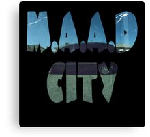 Kendrick Lamar m.A.A.d City Canvas Print