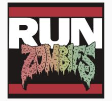 RUN ZOMBIES MASHUP! HIP HOP Kids Clothes