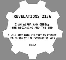 Revelations 21:6 by Holly Reed