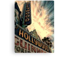 hollywood,sign Canvas Print