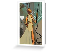 Vivienne Tarot Greeting Card