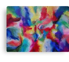 """Euphoria"" original abstract artwork by Laura Tozer Canvas Print"