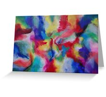 """Euphoria"" original abstract artwork by Laura Tozer Greeting Card"