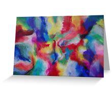 """Euphoria"" original abstract artwork by Laura Tozer Greeting Card"