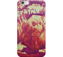 """Forest Fire"" original abstract artwork by Laura Tozer iPhone Case/Skin"