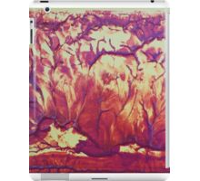"""""""Forest Fire"""" original abstract artwork by Laura Tozer iPad Case/Skin"""
