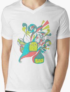 surreal boxcat Mens V-Neck T-Shirt