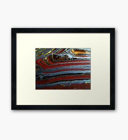 Nature's Ribbon Framed Print