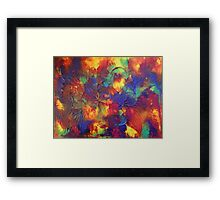 """Entropy"" original abstract artwork by Laura Tozer Framed Print"