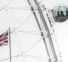 London Eye and Union Jack Sticker