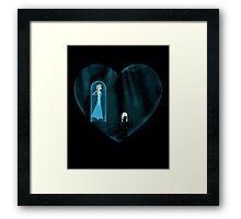 Heart of Ice Framed Print