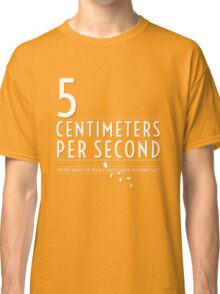 5 Centimeters per Second t-shirt / Phone case Classic T-Shirt