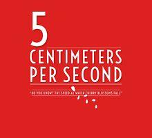 5 Centimeters per Second t-shirt / Phone case Unisex T-Shirt
