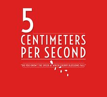 5 Centimeters per Second t-shirt / Phone case Unisex T-Shirt