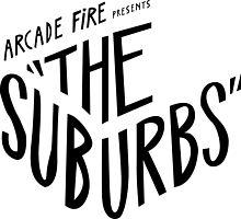 Arcade fire suburbs logo by crazybitches