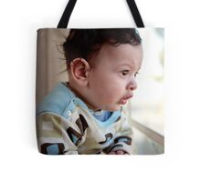 Matthew 4 months Tote Bag