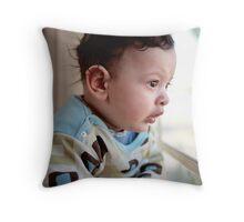 Matthew 4 months Throw Pillow