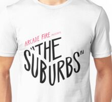 Arcade fire The suburbs logo Unisex T-Shirt