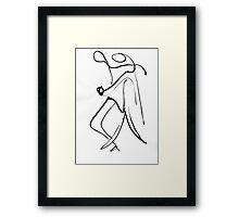 Tango Prelim 2 Framed Print