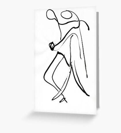 Tango Prelim 2 Greeting Card