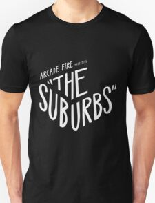 Arcade fire The Suburbs logo Unisex T-Shirt