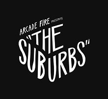 Arcade fire The Suburbs logo T-Shirt