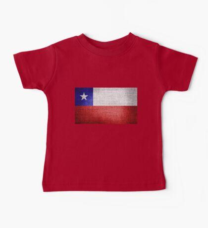 Chile Flag Baby Tee