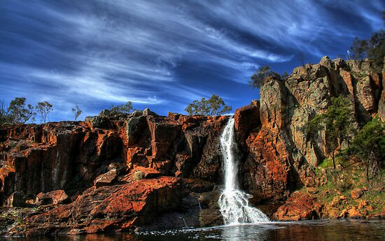 Nigretta Waterfalls by Steve Chapple