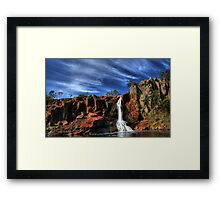 Nigretta Waterfalls Framed Print