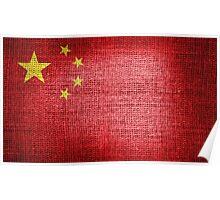 China Flag Poster