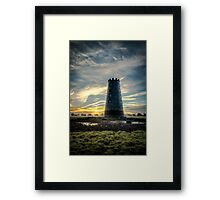 The Black Mill Framed Print